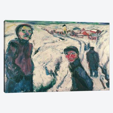Snow Landscape, 1923  Canvas Print #BMN2616} by Ernst Ludwig Kirchner Canvas Art