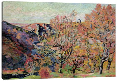 The Valley of the Sedelle in Crozant, c.1898  Canvas Art Print
