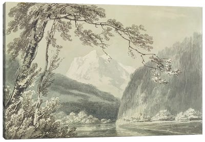 Near Grindelwald, c.1796  Canvas Art Print