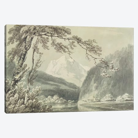 Near Grindelwald, c.1796  Canvas Print #BMN2625} by J.M.W. Turner Art Print
