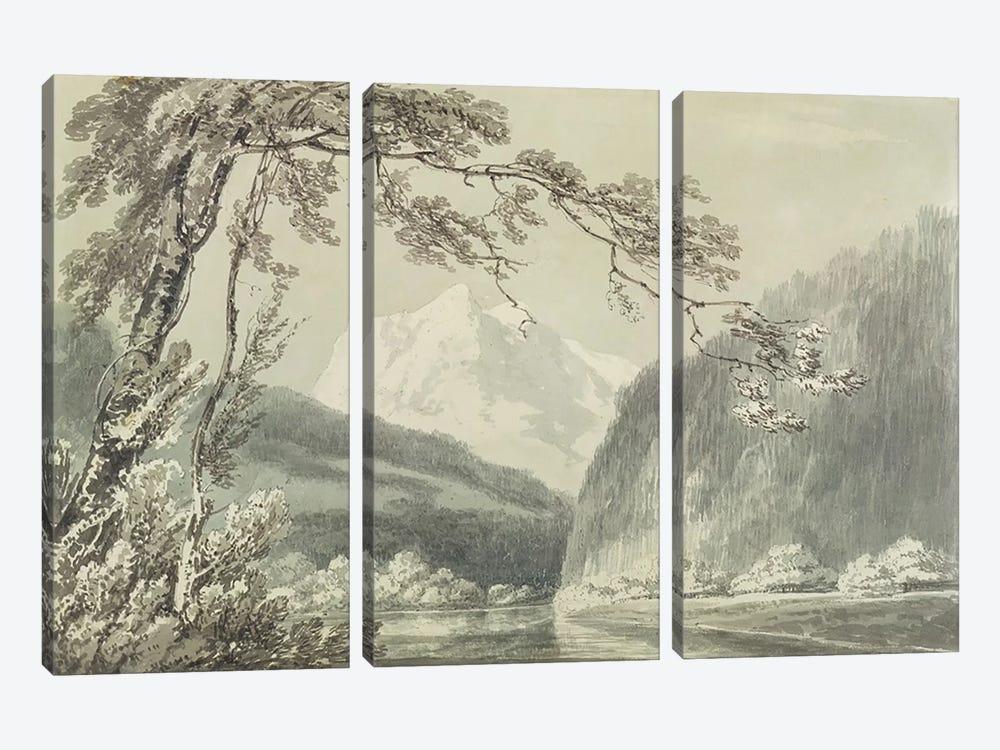 Near Grindelwald, c.1796  by J.M.W. Turner 3-piece Canvas Art