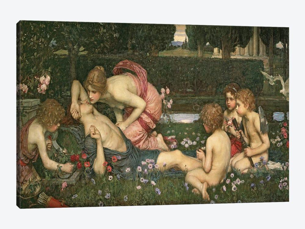 The Awakening of Adonis, 1899  by John William Waterhouse 1-piece Art Print