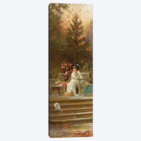 A Prior Attachment, 1882  Canvas Print #BMN2627} by Marcus Stone Canvas Print