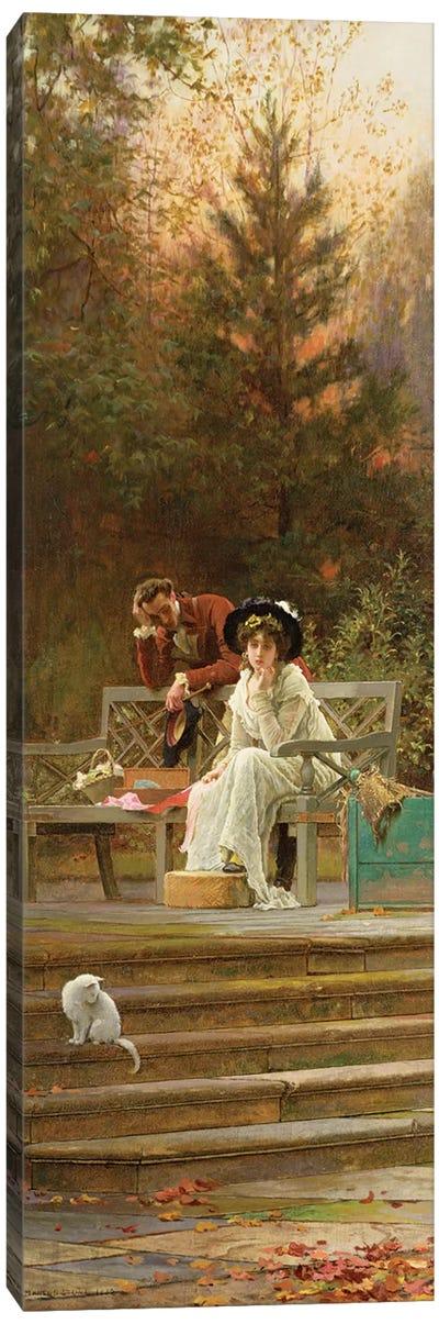 A Prior Attachment, 1882  Canvas Art Print