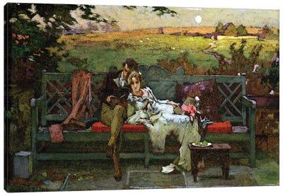 The Honeymoon  Canvas Art Print