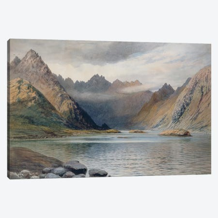 A Loch north of Hadrian's Wall, 1894  Canvas Print #BMN2629} by Walter Severn Canvas Artwork