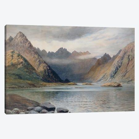 A Loch north of Hadrian's Wall, 1894  Canvas Print #BMN2629} by Walter Severn Canvas Artwork