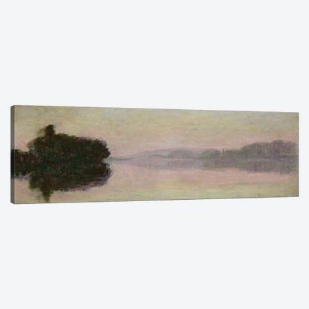 The Seine at Port-Villez, Evening Effect, 1894  Canvas Print #BMN2632} by Claude Monet Art Print