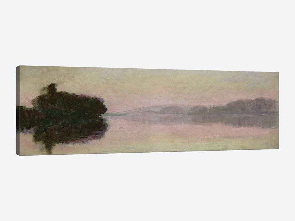 The Seine at Port-Villez, Evening Effect, 1894  by Claude Monet 1-piece Canvas Art