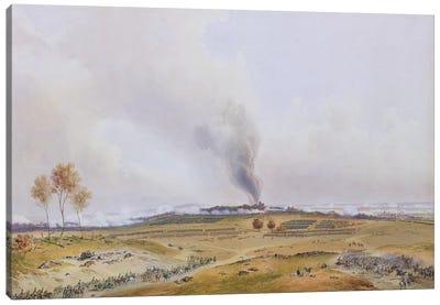 Battle of Iena, 14th October 1806, 1836  Canvas Art Print