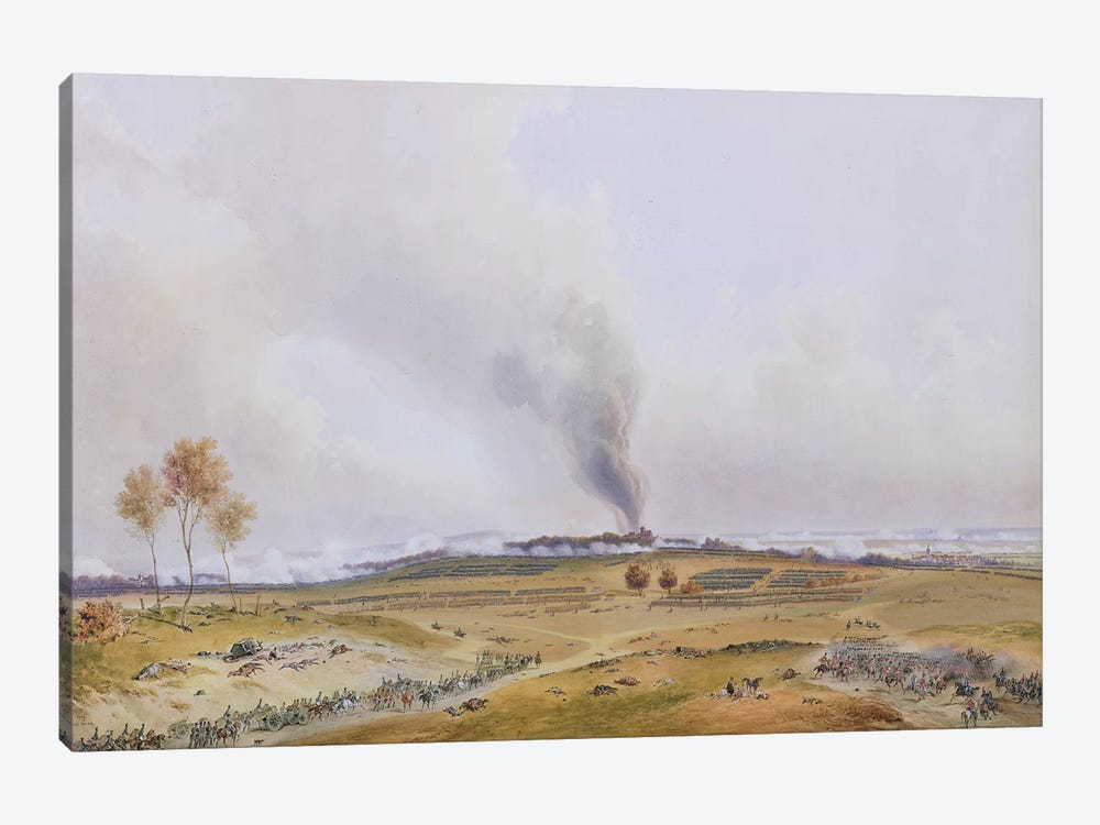 Battle of Iena, 14th October 1806, 1836  by Jean Antoine Simeon Fort 1-piece Canvas Artwork