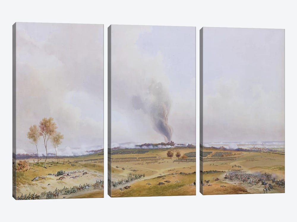 Battle of Iena, 14th October 1806, 1836  by Jean Antoine Simeon Fort 3-piece Canvas Art