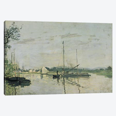 Argenteuil, 1872  Canvas Print #BMN2638} by Claude Monet Art Print