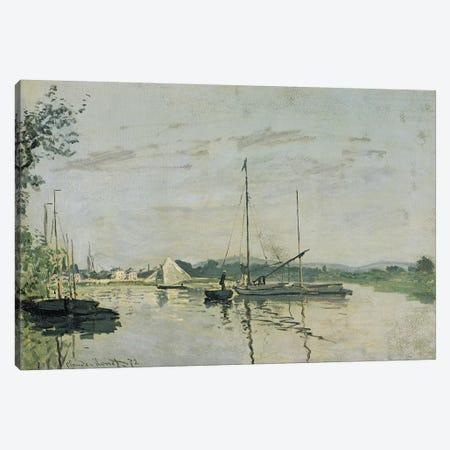Argenteuil, 1872  Canvas Print #BMN2638} by Claude Monet Art Print