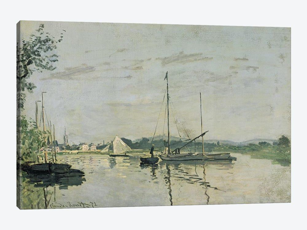 Argenteuil, 1872  by Claude Monet 1-piece Canvas Artwork