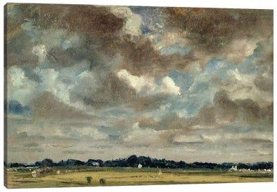 Extensive Landscape with Grey Clouds, c.1821  Canvas Art Print