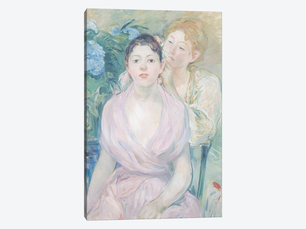 The Hortensia, or The Two Sisters, 1894  1-piece Canvas Wall Art