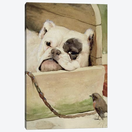 Bulldog, 1927  Canvas Print #BMN2655} by Cecil Charles Windsor Aldin Canvas Art