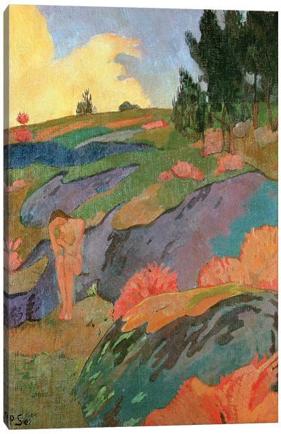 Breton Eve or, Melancholy, c.1890  Canvas Art Print
