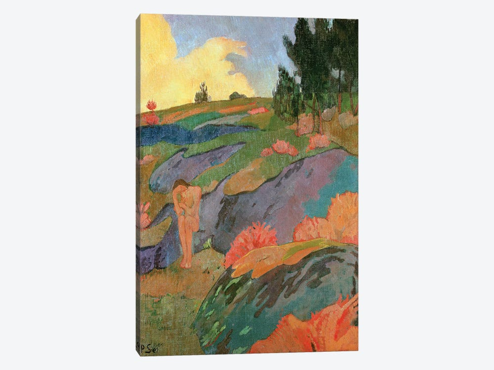 Breton Eve or, Melancholy, c.1890  by Paul Serusier 1-piece Canvas Art