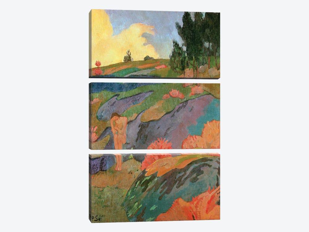 Breton Eve or, Melancholy, c.1890  by Paul Serusier 3-piece Canvas Art