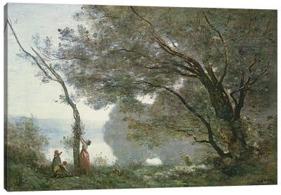 Souvenir de Mortefontaine, 1864  Canvas Art Print