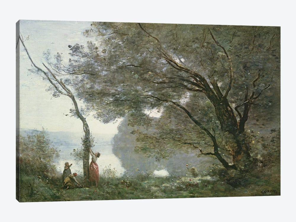 Souvenir de Mortefontaine, 1864  by Jean-Baptiste-Camille Corot 1-piece Art Print