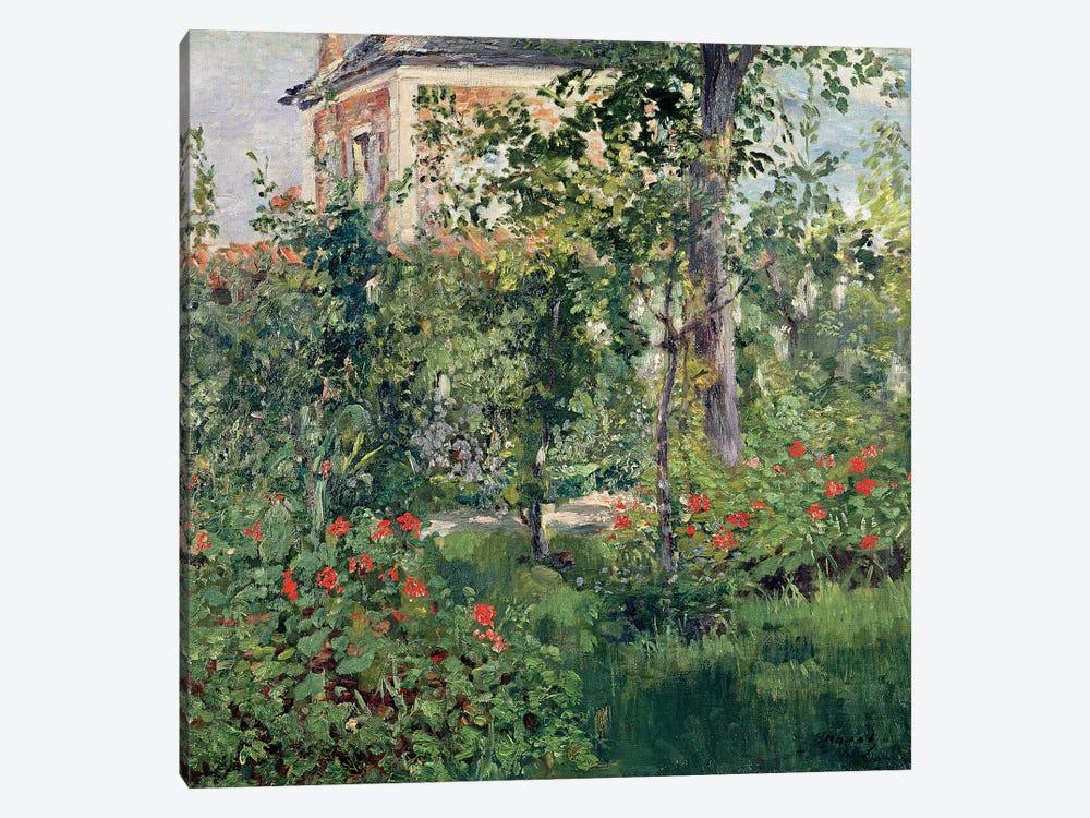 The Garden at Bellevue, 1880  by Edouard Manet 1-piece Canvas Artwork