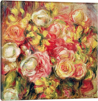Roses, 1915 Canvas Art Print