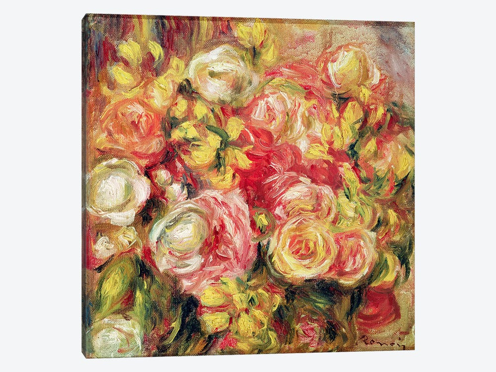 Roses, 1915  by Pierre-Auguste Renoir 1-piece Canvas Artwork