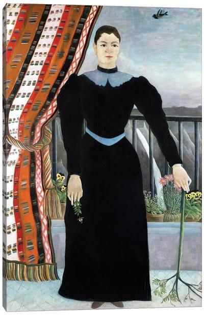 Portrait Of A Woman, 1895 Canvas Print #BMN2671
