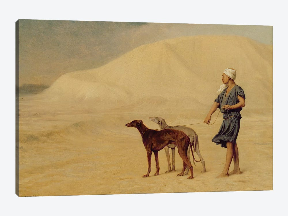 In the Desert  by Jean Leon Gerome 1-piece Canvas Print
