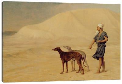 On the Desert  Canvas Art Print