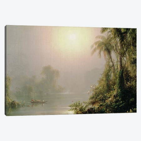 Morning in the Tropics, c.1858  Canvas Print #BMN2677} by Frederic Edwin Church Canvas Wall Art