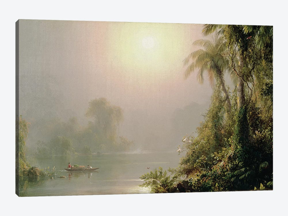Morning in the Tropics, c.1858  by Frederic Edwin Church 1-piece Canvas Print