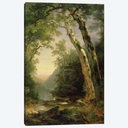 The Catskills, 1859  Canvas Print #BMN2679} by Asher Brown Durand Art Print