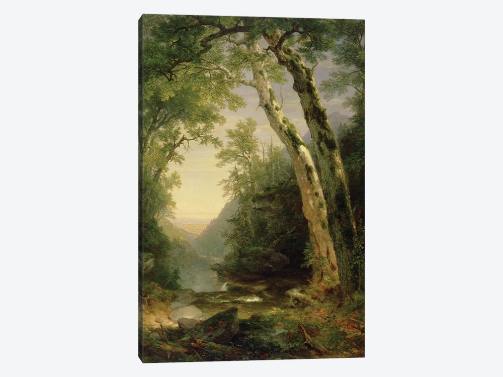 The Catskills, 1859  by Asher Brown Durand 1-piece Canvas Art Print
