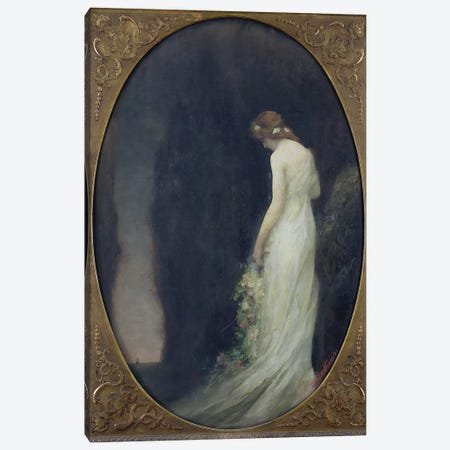 Evening, 1911  Canvas Print #BMN2682} by Gabriel-Joseph-Marie-Augustin Ferrier Canvas Art