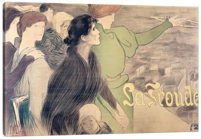 Poster for 'La Fronde'  Canvas Art Print