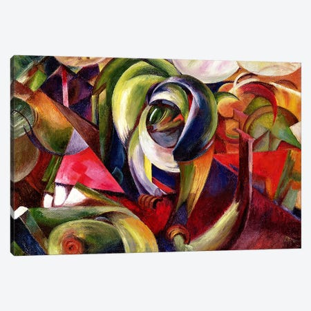 Mandrill, 1913  Canvas Print #BMN2700} by Franz Marc Canvas Art Print