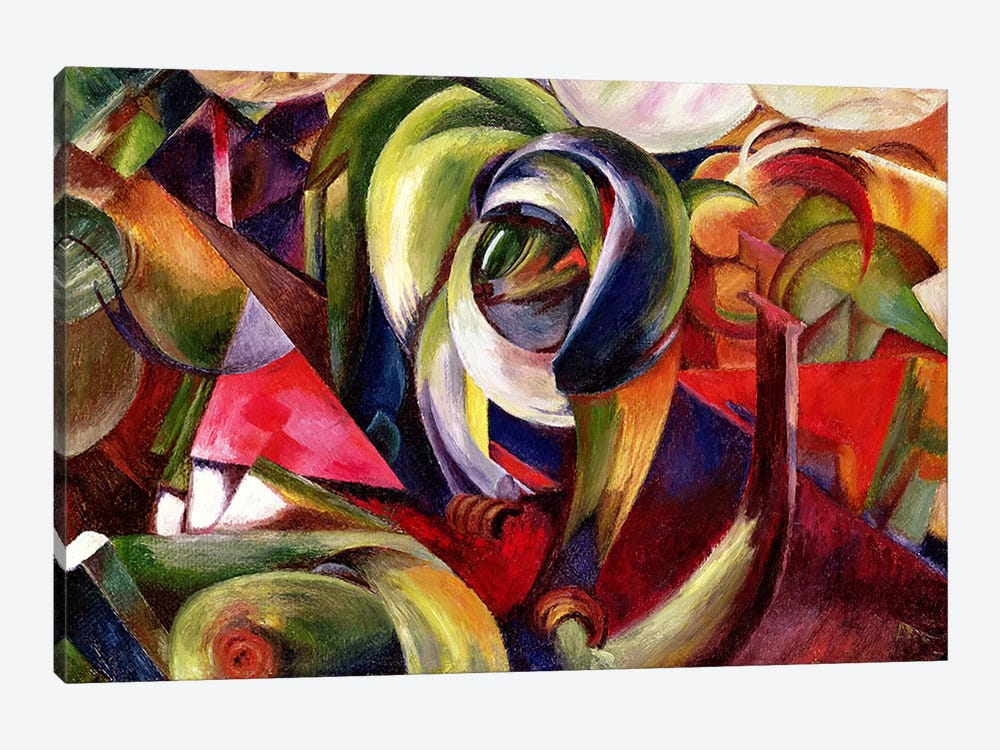Mandrill, 1913  by Franz Marc 1-piece Canvas Wall Art