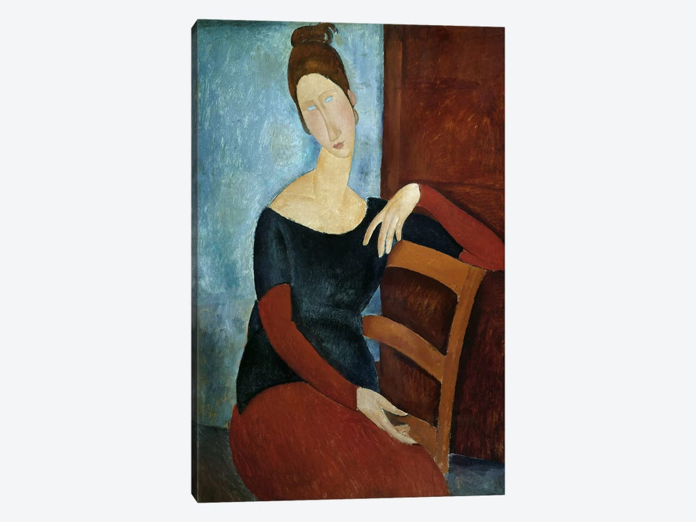The Artist's Wife  by Amedeo Modigliani 1-piece Canvas Art Print