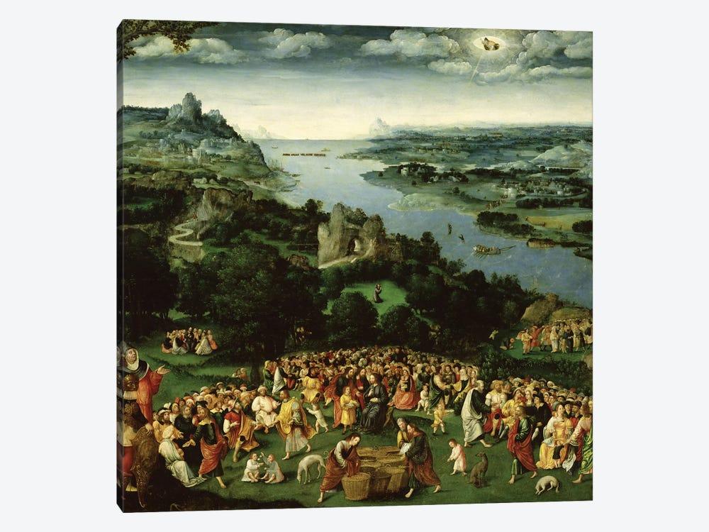 The Feeding of the Five Thousand  by Joachim Patinir 1-piece Canvas Art