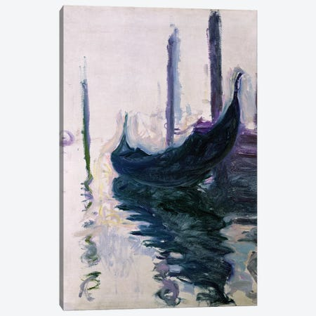 Gondolas in Venice, 1908  Canvas Print #BMN2709} by Claude Monet Canvas Art Print