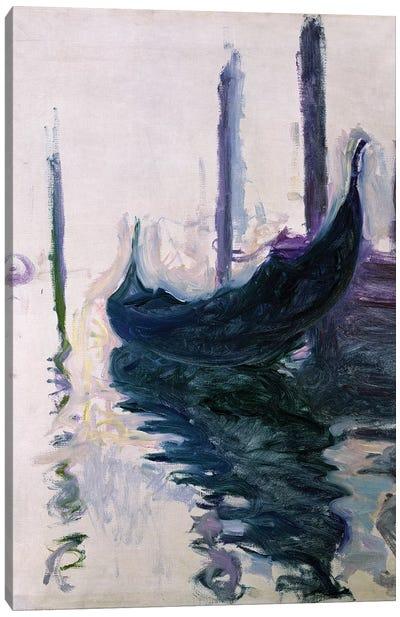 Gondolas in Venice, 1908  Canvas Art Print