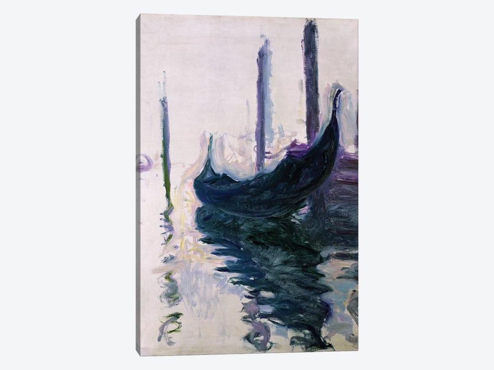 Gondolas in Venice, 1908  by Claude Monet 1-piece Canvas Print