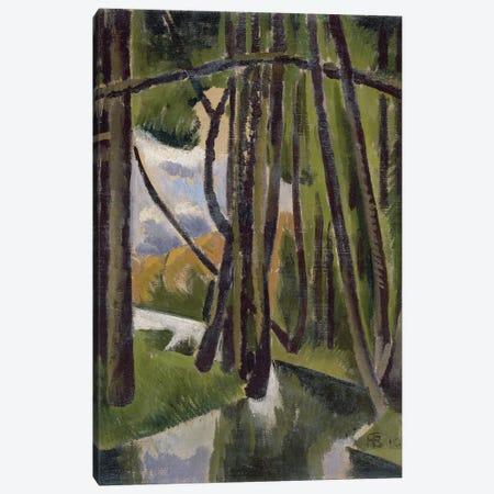 Undergrowth, 1910  Canvas Print #BMN2713} by Roger de la Fresnaye Canvas Wall Art
