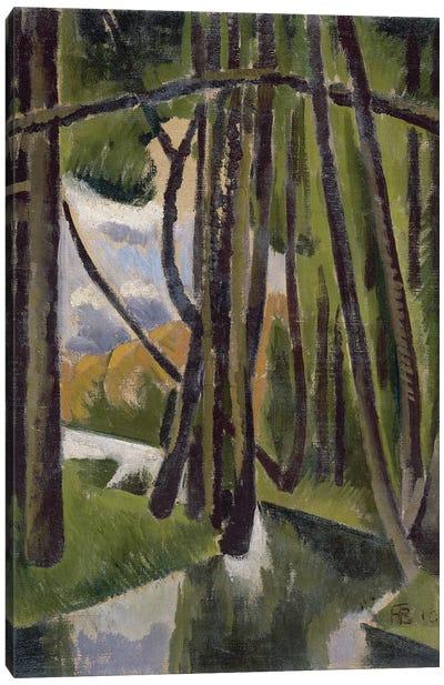 Undergrowth, 1910  Canvas Art Print