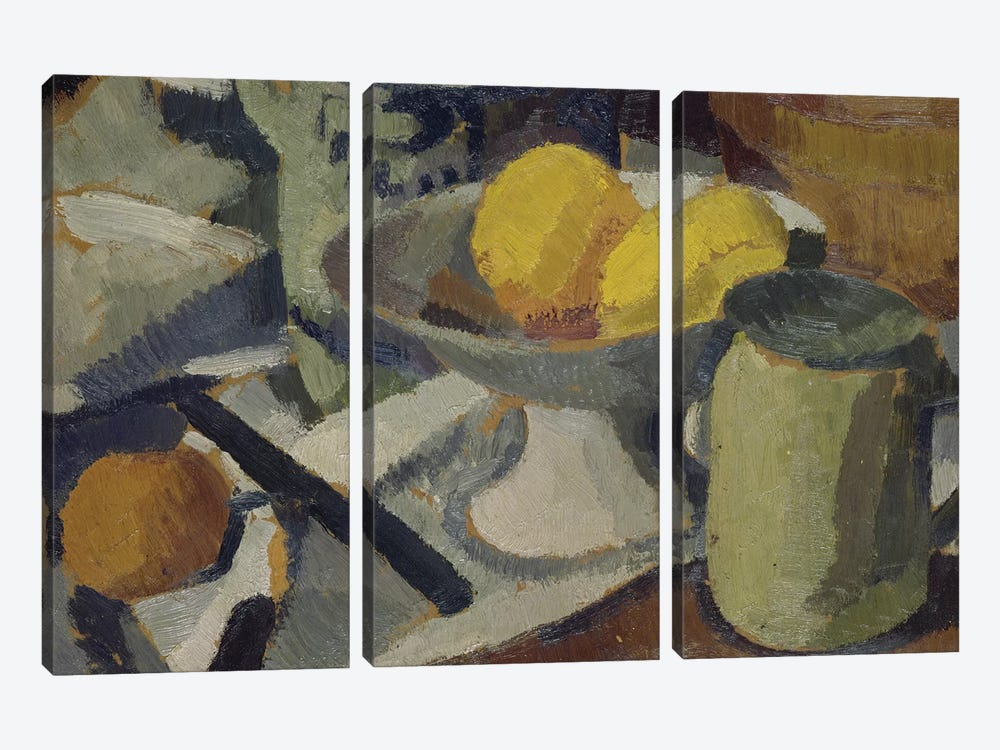 Still Life  by Roger de la Fresnaye 3-piece Art Print