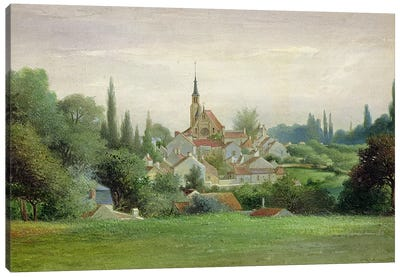 Verriere-le-Buisson, c.1880 Canvas Art Print